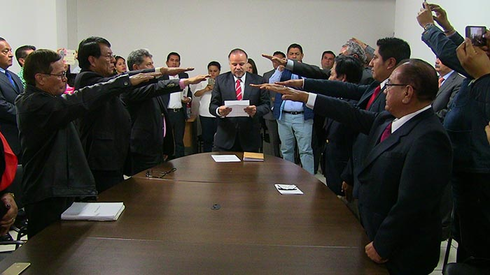 Por instrucciones del Gobernador Alejandro Murat, nombra titular del IEEPO a siete nuevos directivos del Instituto.